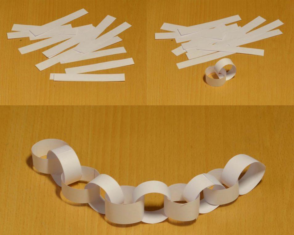 бумажная цепочка