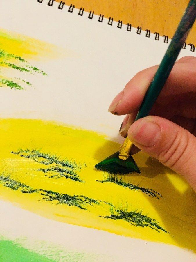 Как нарисовать портрет человека акриловыми красками поэтапно. портрет масляными красками для новичков