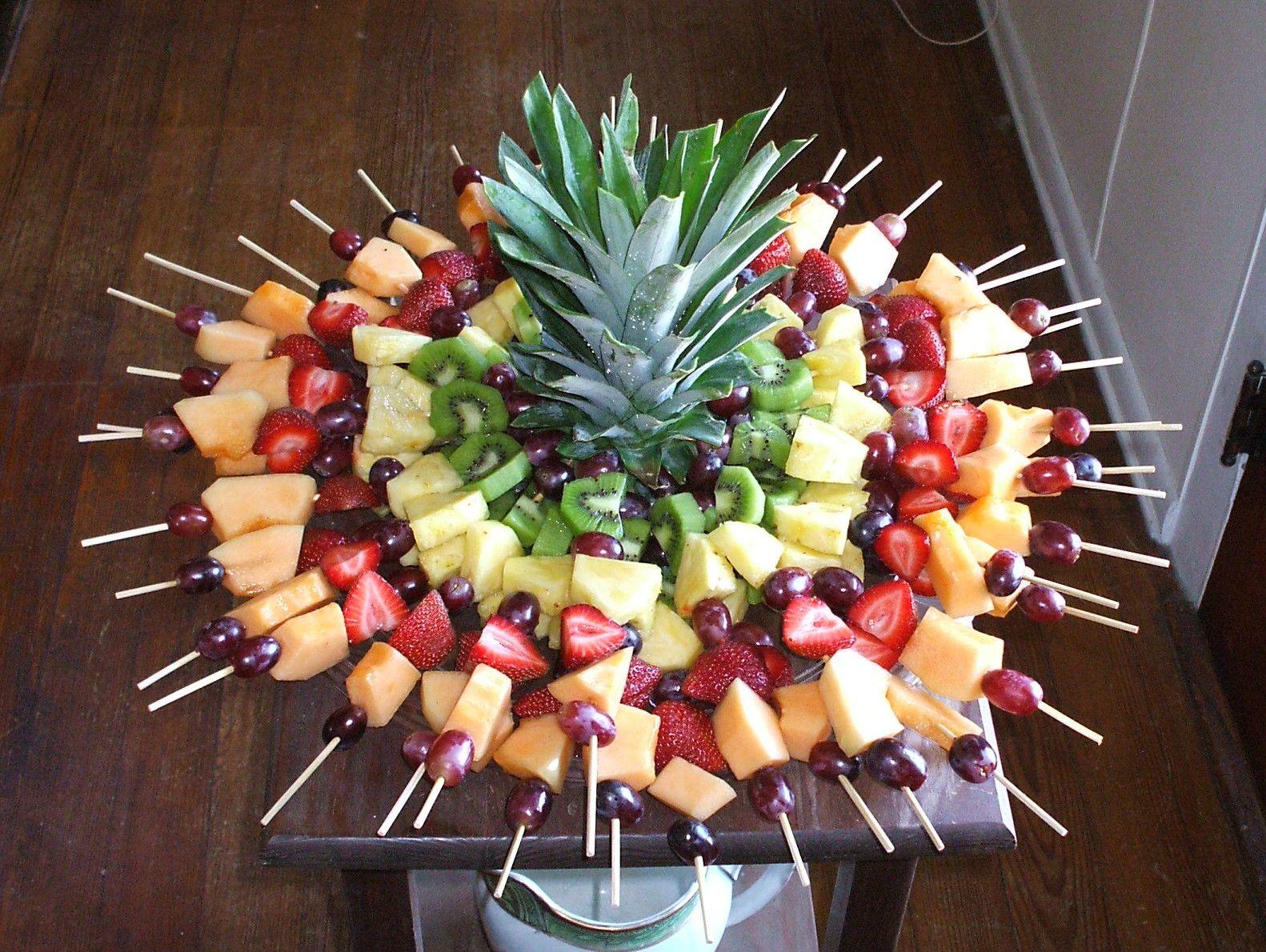 Красивая нарезка фруктов на праздничный стол: лучшие идеи с фото