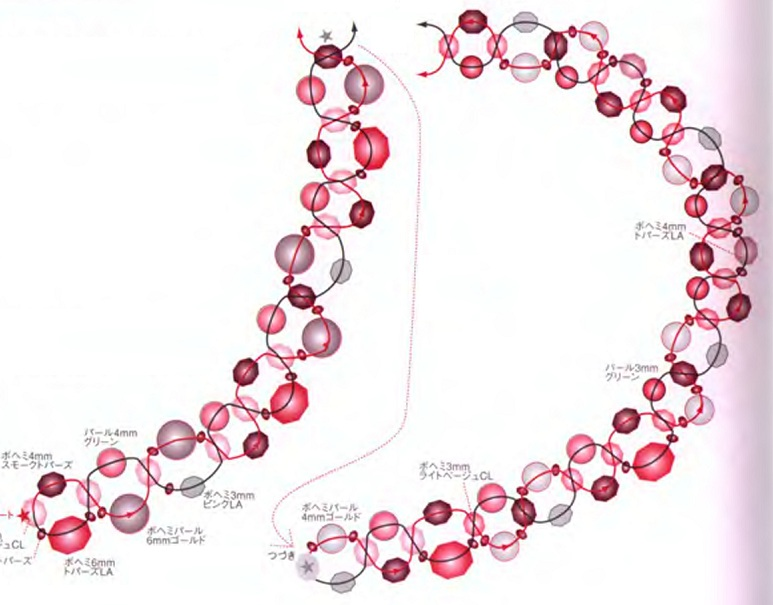 Бисероплетение: колье и ожерелья, схемы для изготовления своими руками