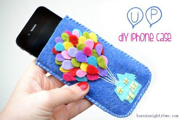 Чехлы для телефона из фетра своими руками