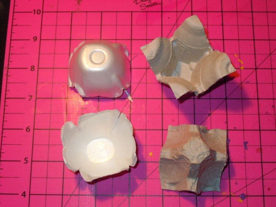 Поделки из лотков - пошаговая инструкция как сделать оригинальные поделки