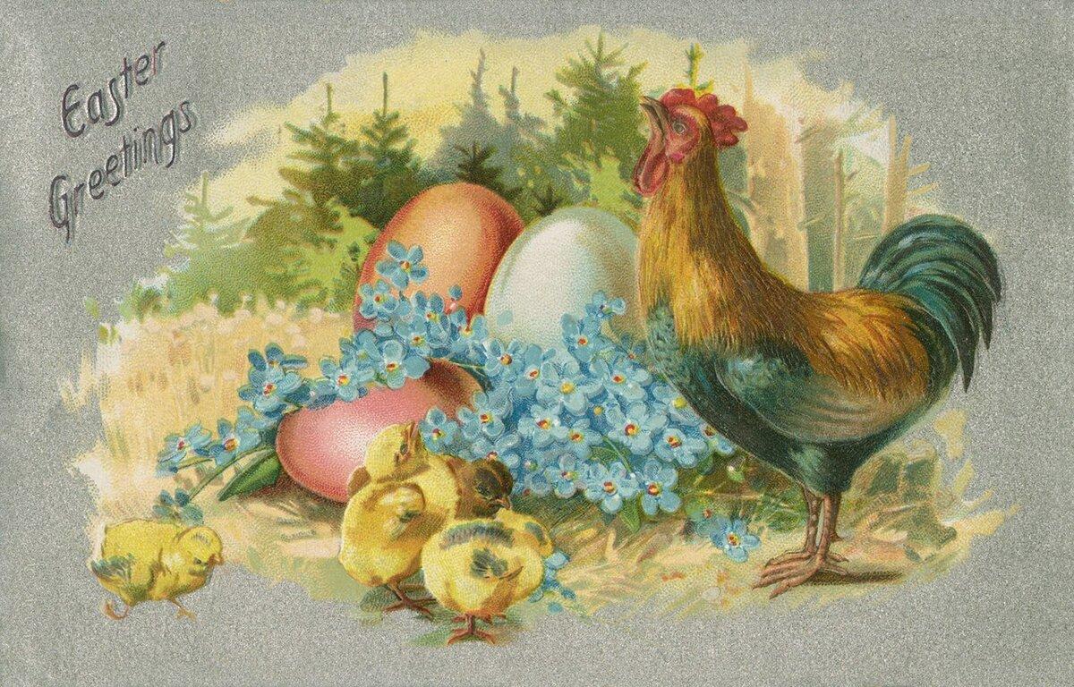 Пасхальная курочка с яйцами — своими руками
