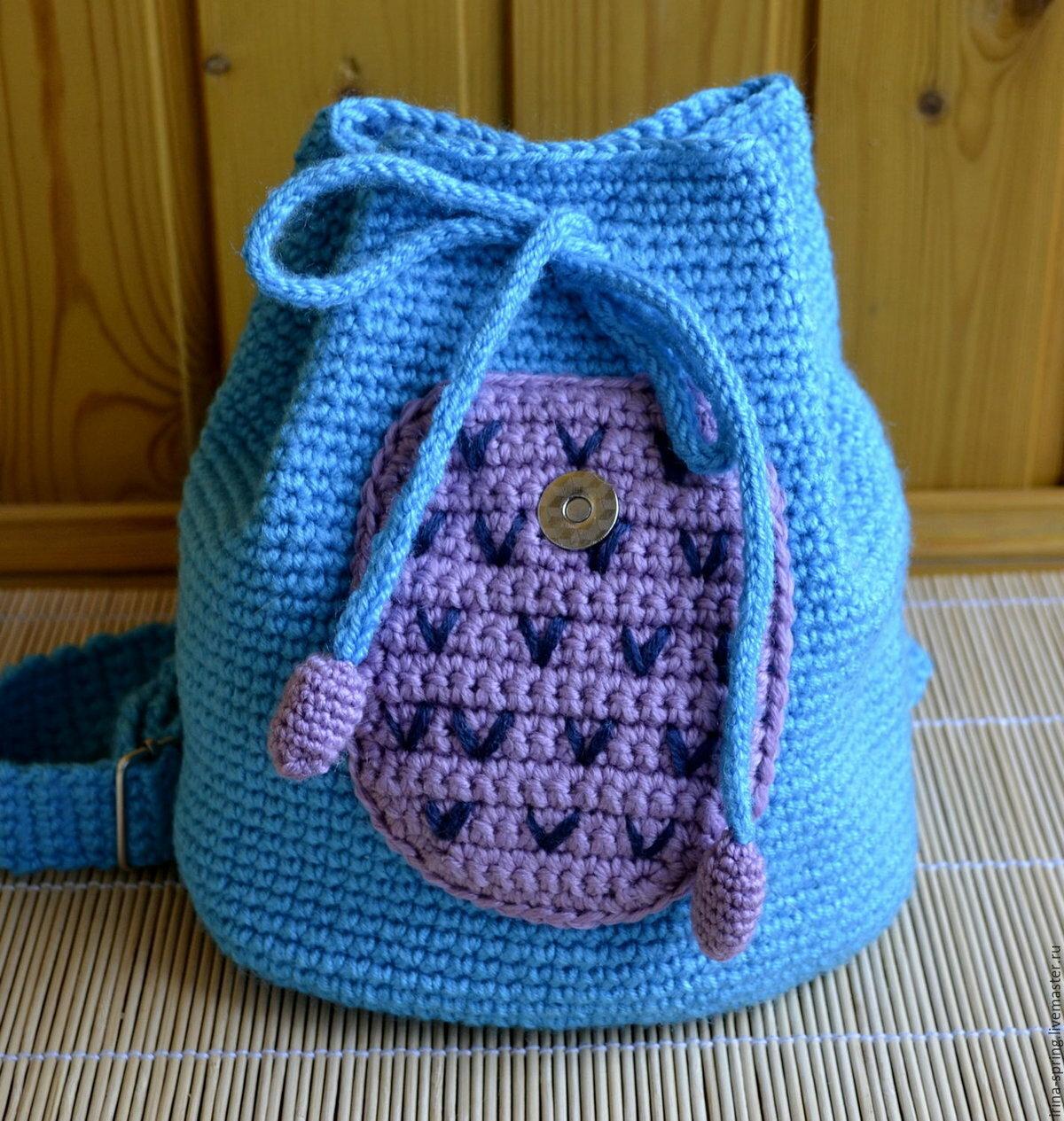 Детская сумочка крючком: описание, схемы, полезные советы