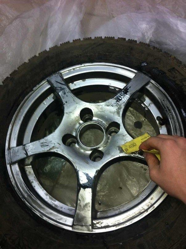 ᐉ обновляем автомобильные диски - своими руками -