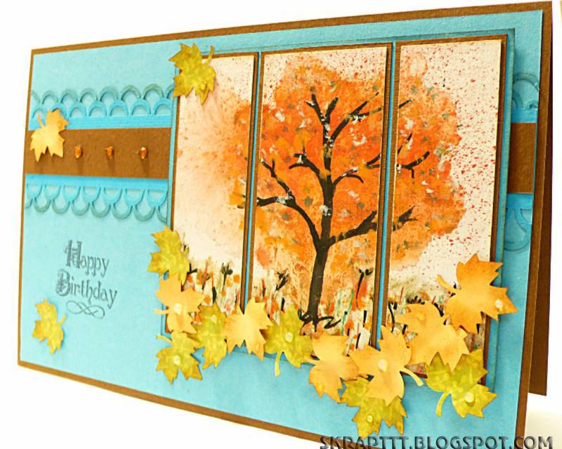 Осенние открытки своими руками для детей + шаблоны