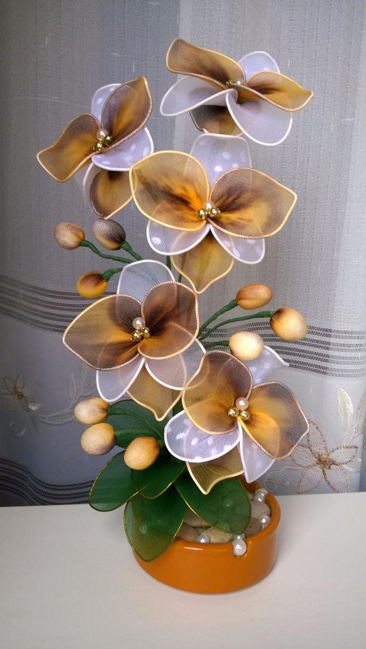 Цветы из капрона своими руками или даём вторую жизнь капроновым колготкам