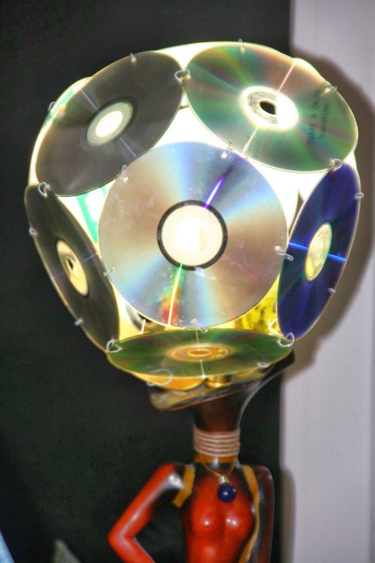 Поделки из компьютерных cd дисков - 71 фото идея необычных поделок из компакт-дисков