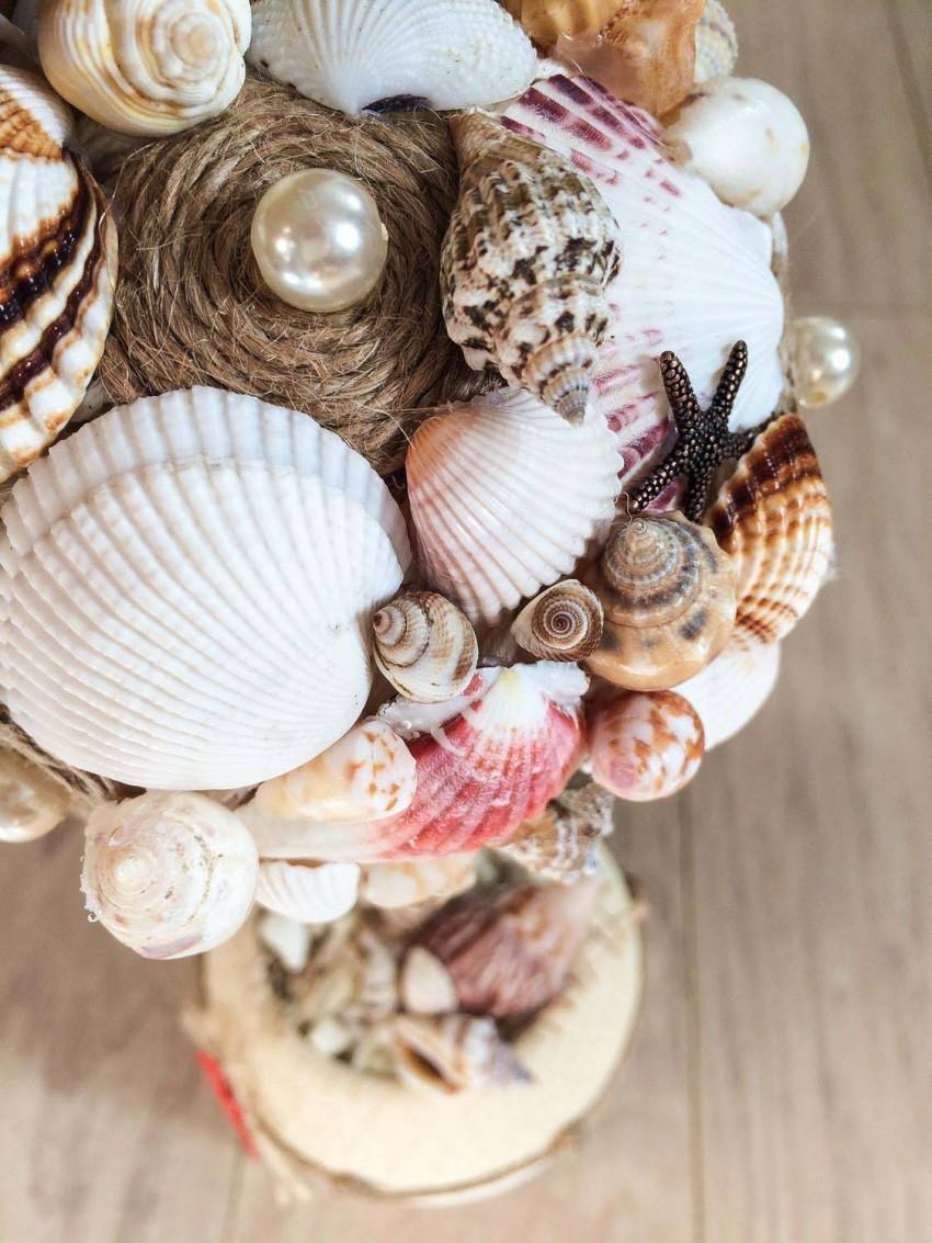 Поделки из ракушек - идеи украшений и мастер-класс изготовления красивых поделок (90 фото)