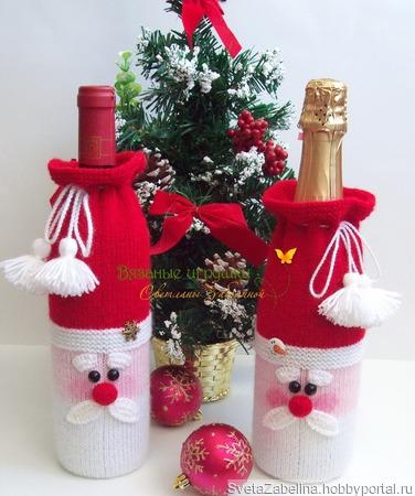 Оригинальная упаковка подарка своими руками: шьем чехол для бутылки