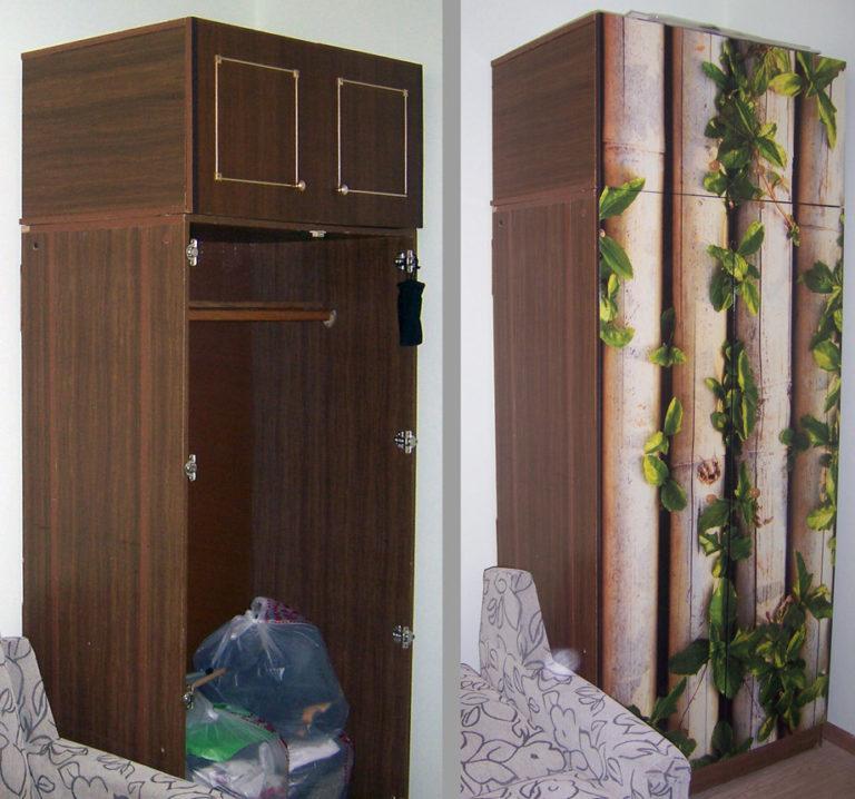 Как обновить старый шкаф, шкаф купе своими руками: способы реставрации и покраски