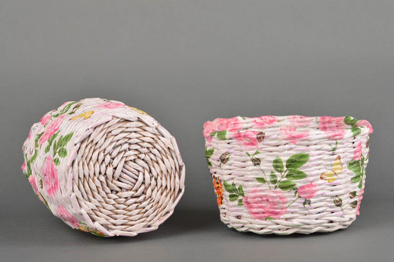Корзина из газетных трубочек: инструкция по плетению своими руками, схема, видео и фото
