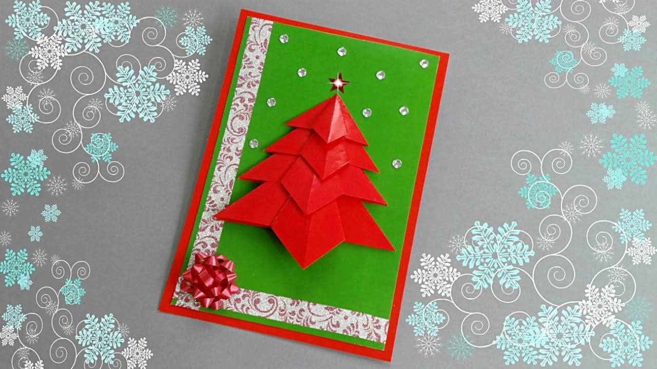 Новогодняя открытка «ёлочка» своими руками – пошаговый мастер-класс с фото | hand made - идеи и мастер-классы