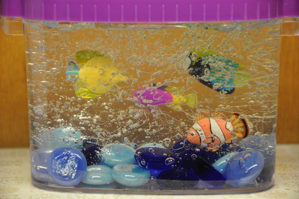 Аквариум из бумаги. мастерим с детьми. аквариум из коробки для детского сада своими руками. мастер-класс с фото