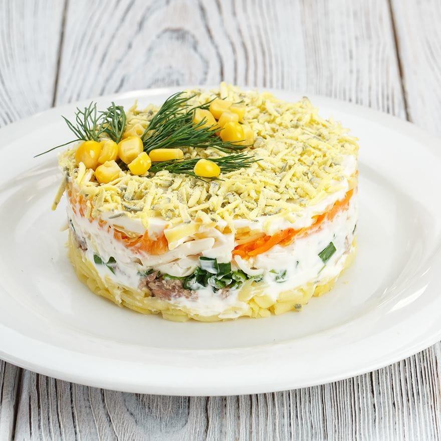Салат «мимоза» по-новому — 5 лучших рецептов