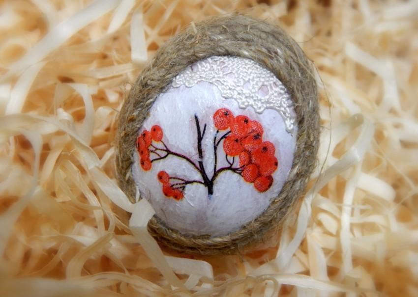 Ажурные объемные пасхальные яйца из ниток своими руками | море творческих идей для детей