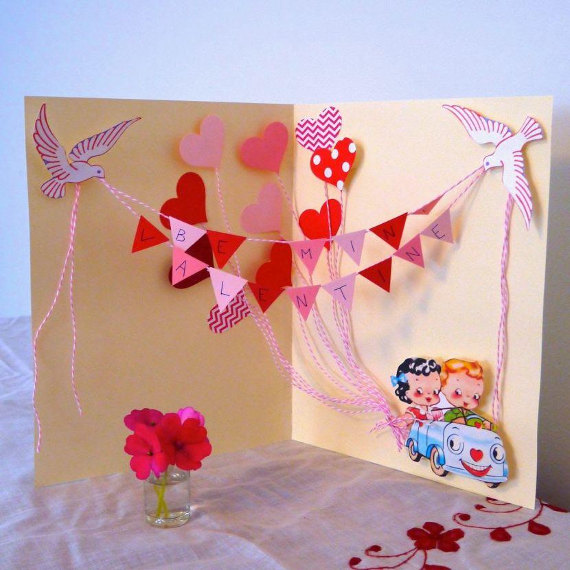 Объемные открытки своими руками с цветами внутри, 3д открытки из бумаги на день рождения и другие праздники