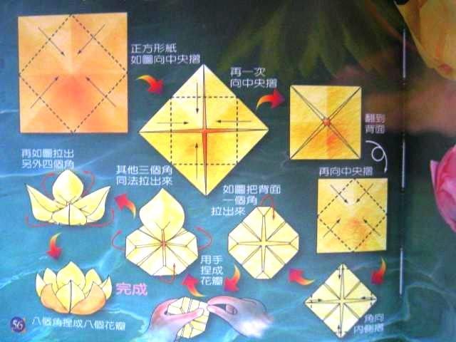 Оригами лотос: как сделать из бумаги цветок своими руками
