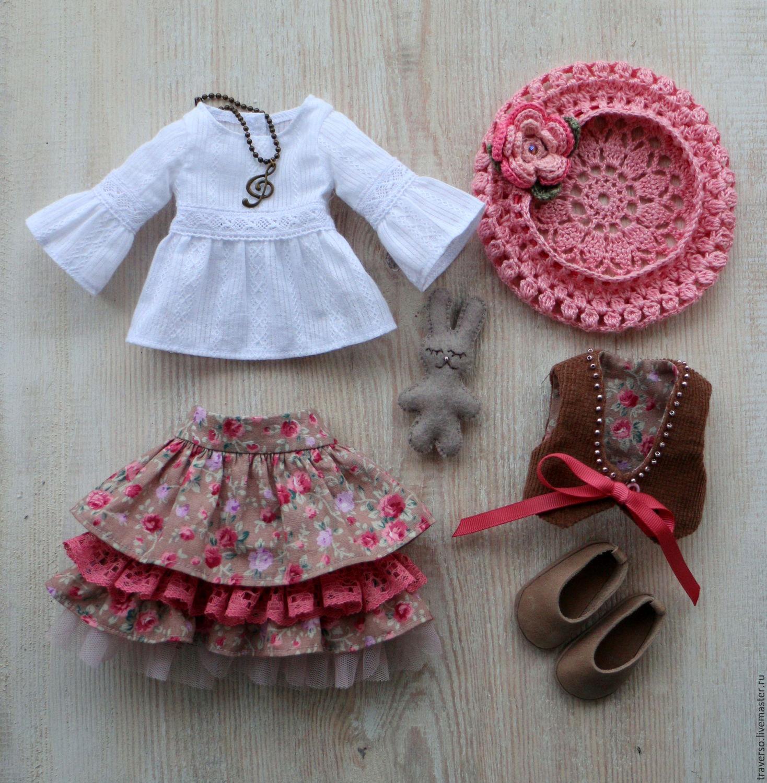 Выкройки и порядок шитья одежды для куклы своими силами