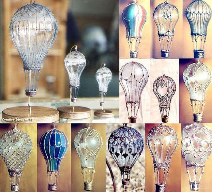 15 простых светильников своими руками - лайфхакер