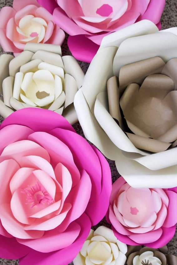 Цветы из бумаги своими руками — больше 70 вариантов — коробочка идей и мастер-классов