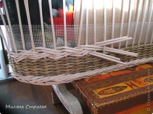 Люлька из газетных трубочек или как я вспоминала швейное дело) - газетное чудо - плетение из газет - страна мам