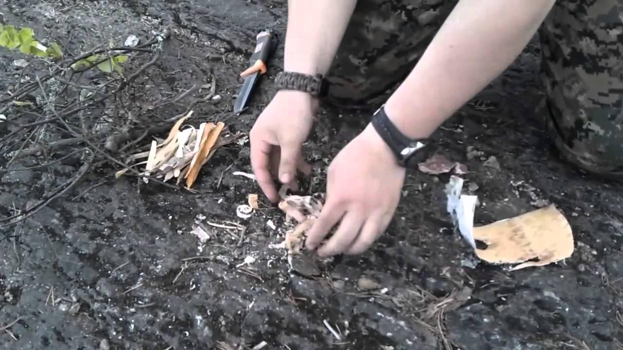 Получение огня из пустой зажигалки — своими руками