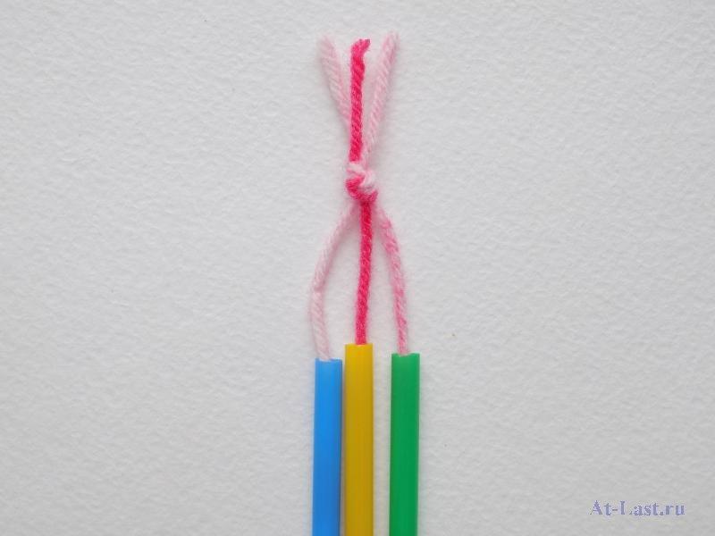 Плетение из трубочек: браслеты, фенечки и прочие аксессуары