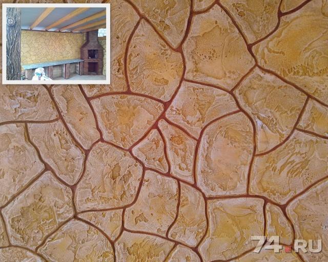 Декоративная штукатурка под камень для имитации каменной кладки