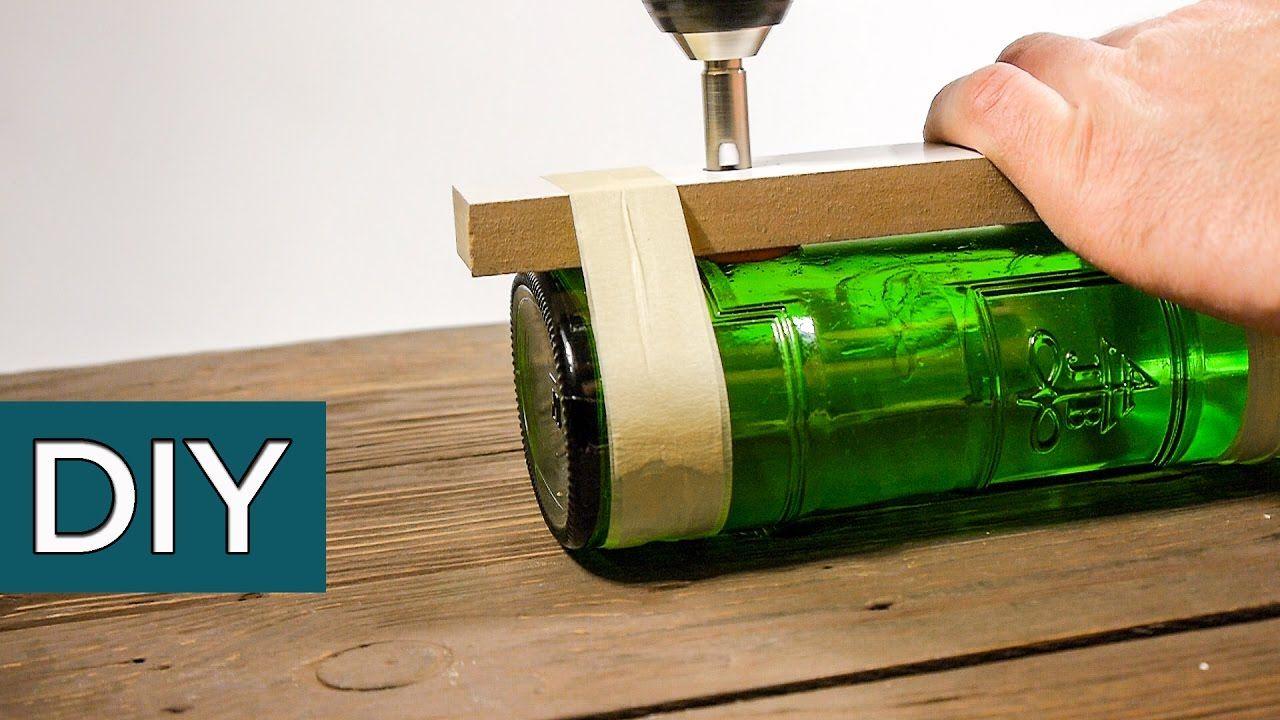 Как подручными средствами за 20 секунд и с первого раза ровно разрезать стеклянную бутылку | фишки ремонта | яндекс дзен