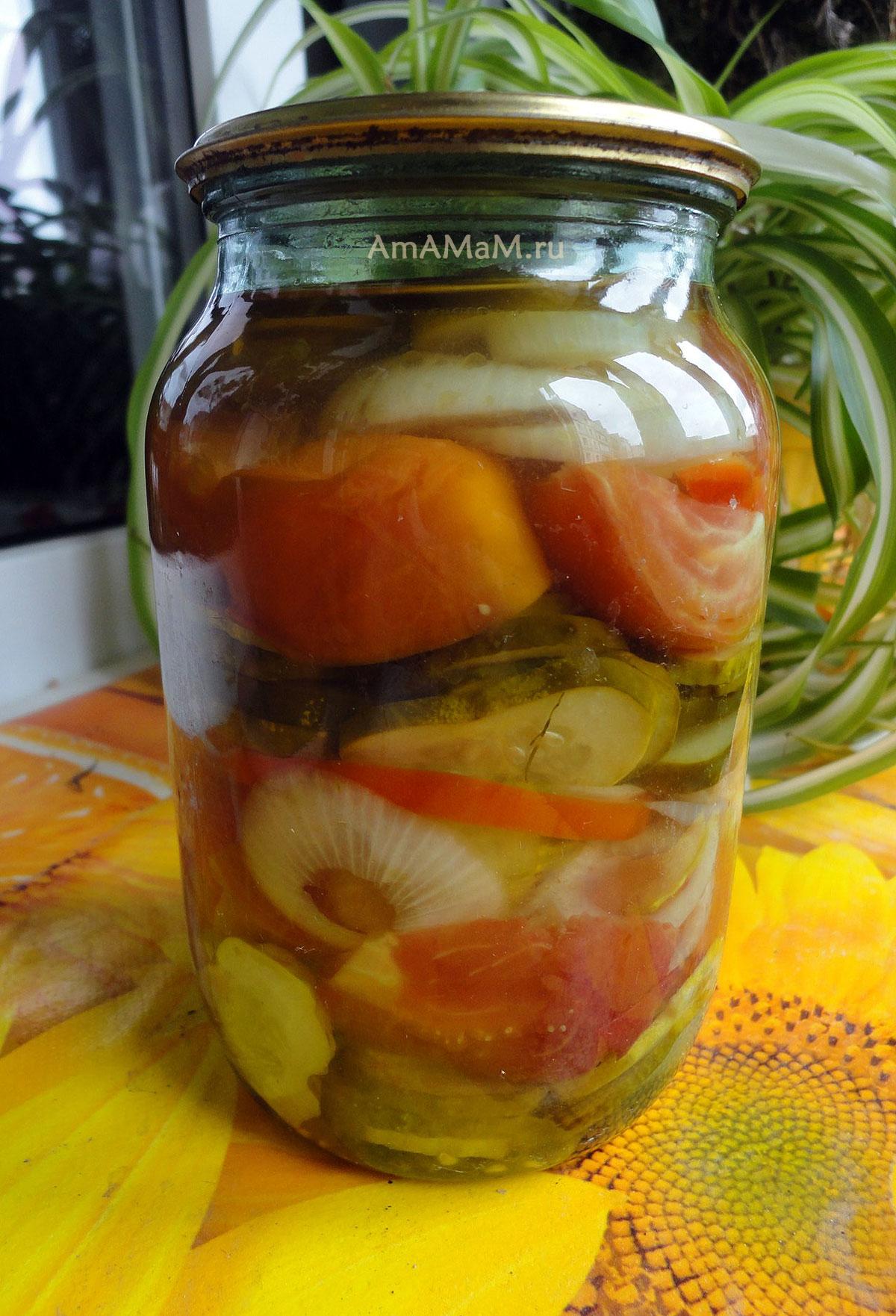 Консервированные огурцы в томатном соусе на зиму — обалденные рецепты