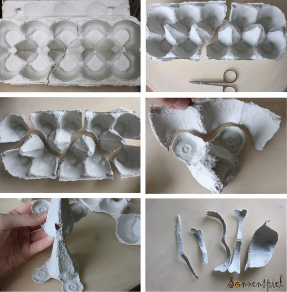 Папье-маше из яичных лотков: из коробок, как сделать поделки из ячеек яиц, мастер класс, рецепт своими руками для сада, масса, фото, видео делаем папье-маше из яичных лотков: инструкция пошагово – дизайн интерьера и ремонт квартиры своими руками
