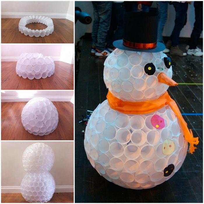 Как сделать снеговика своими руками на новый год из подручных материалов?