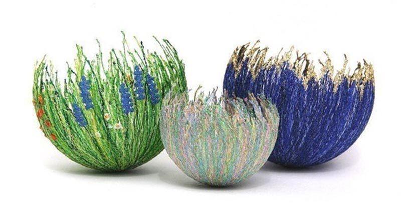 Цветы из ниток пряжи: лучшие пошаговые мастер-классы