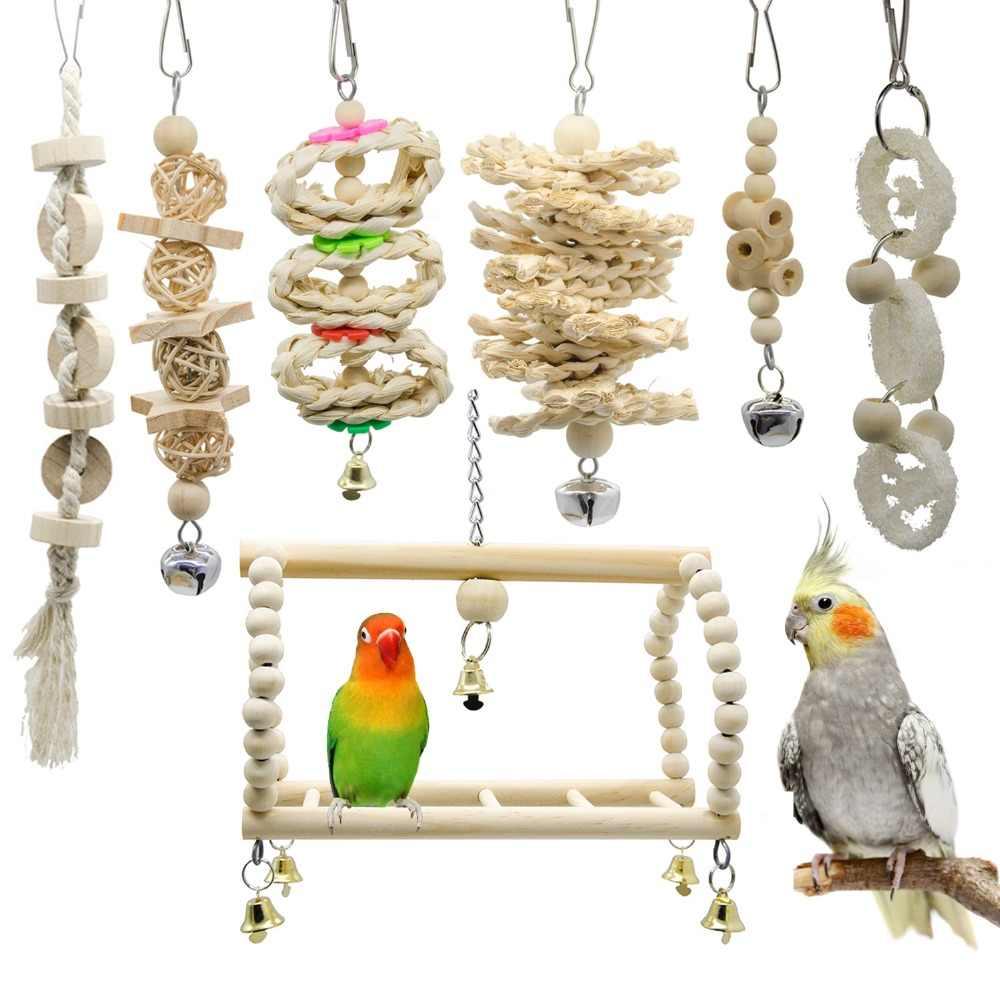 Игрушки для волнистых попугаев: купить или сделать своими руками, фото разновидностей, когда нужно зеркало, куда установить игровой комплекс
