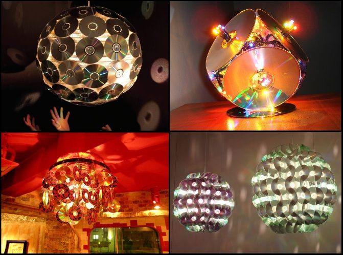 Шарик из дисков своими руками. шар из cd дисков. материал для создания шара из дисков