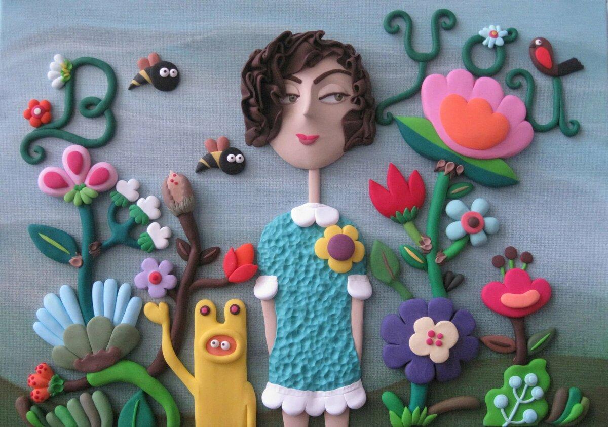 Пластилиновая живопись для детей