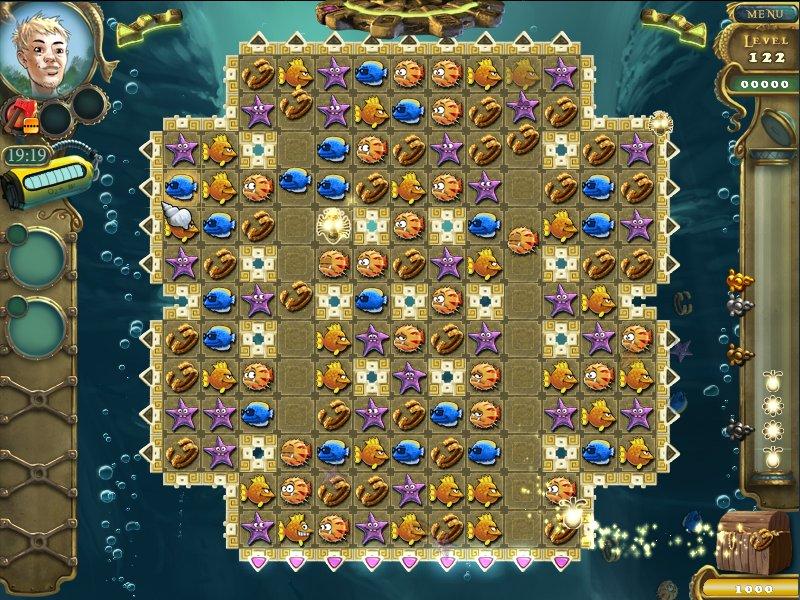 Сокровища моря 3 — играть онлайн бесплатно