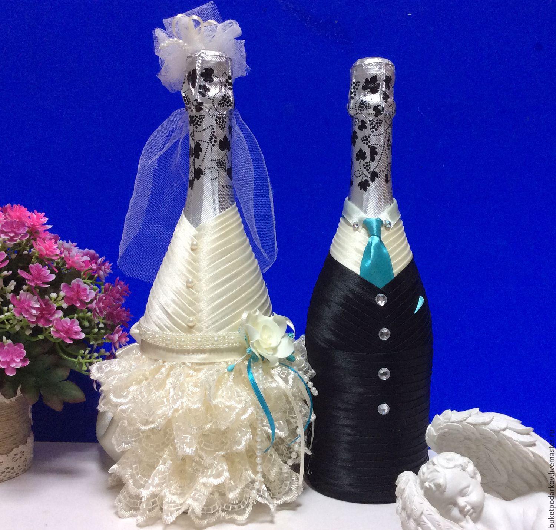 ᐉ оформление свадебных бутылок шампанского своими руками. как украсить шампанское на свадьбу - 41svadba.ru