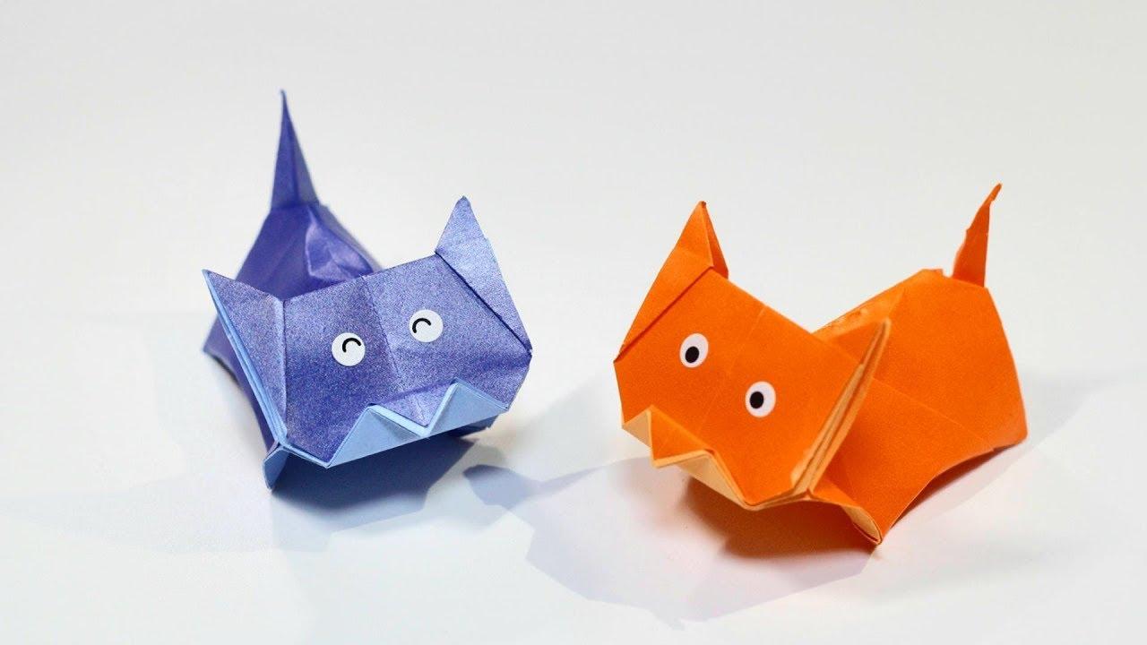 Аппликация из цветной бумаги и картона «котенок» для детей 5–6 лет. воспитателям детских садов, школьным учителям и педагогам - маам.ру