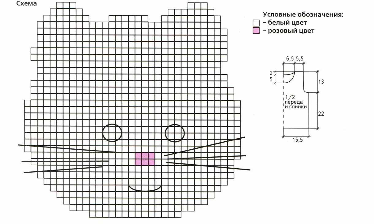 . мк шапочка крючком wavycat (волнистая кошечка) - вязание - страна мам