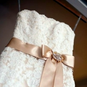 Как сшить пояс для платья из ткани?