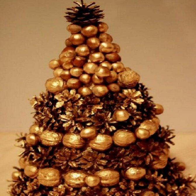 Мастер-класс «осеннее дерево. елка из сливовых косточек поделки из косточек абрикоса
