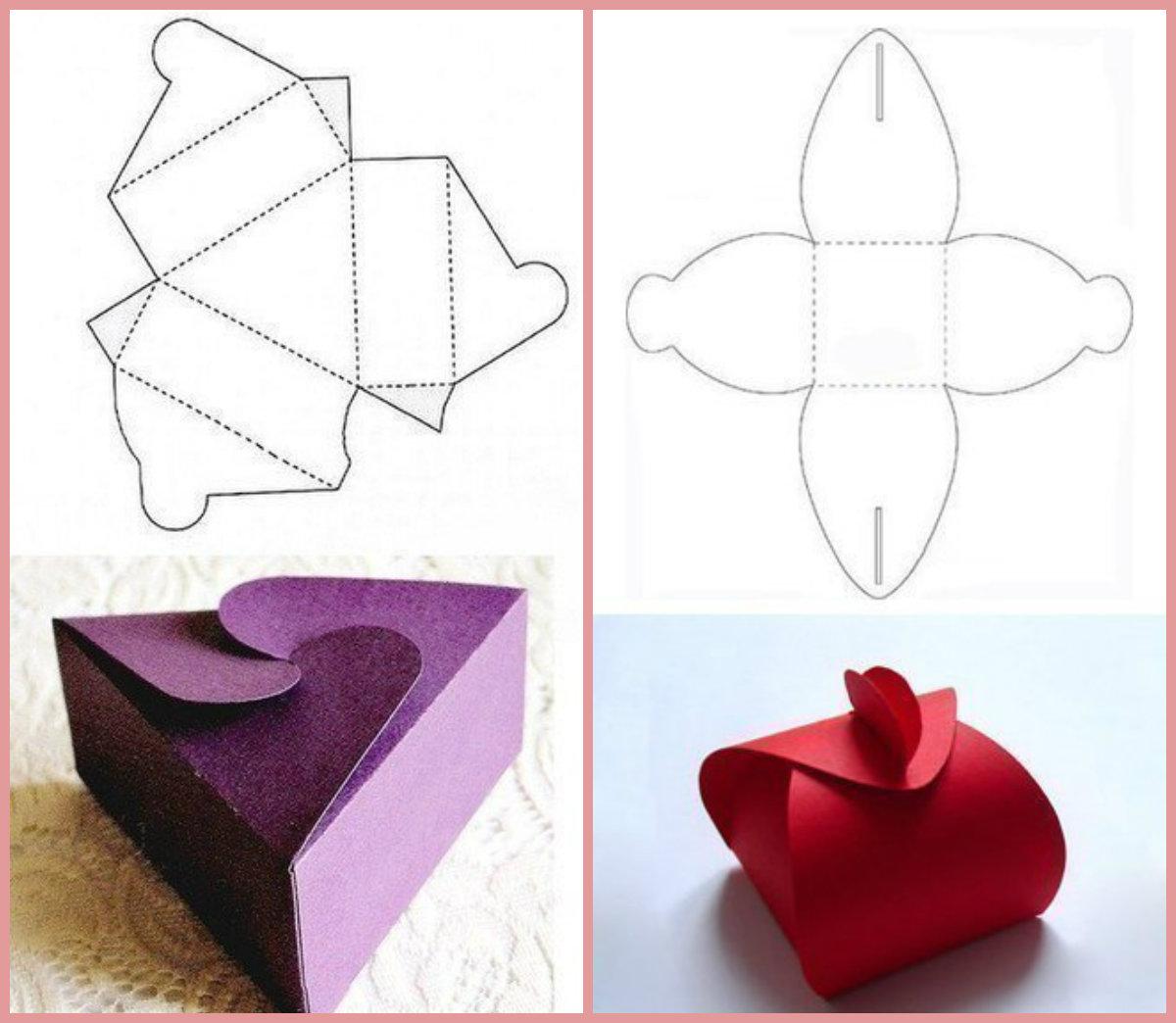 Как сделать коробку из бумаги своими руками: 8 пошаговых схем (фото и видео)