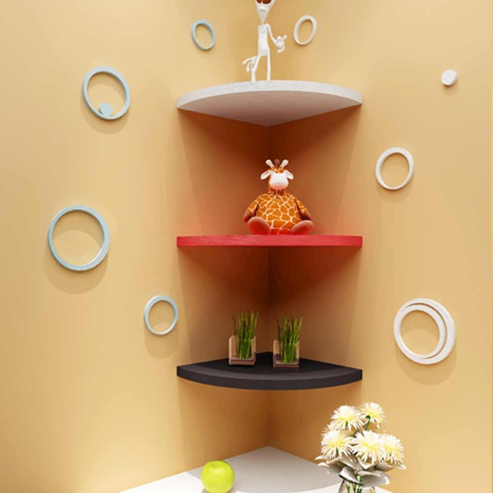 Угловая полка в комнату: навесные, настенные и другие варианты моделей, фото