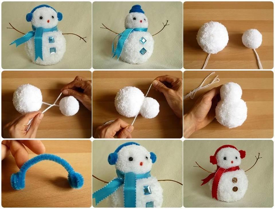 Diy: снеговик своими руками на новый год 2019