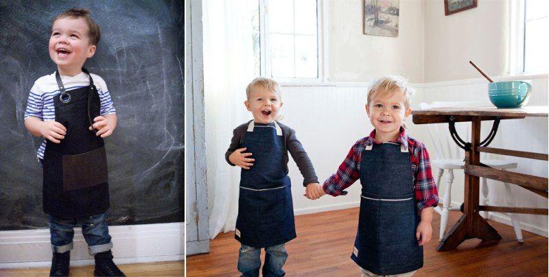 Детский фартук своими руками: идеи и мастер-класс (70 фото)