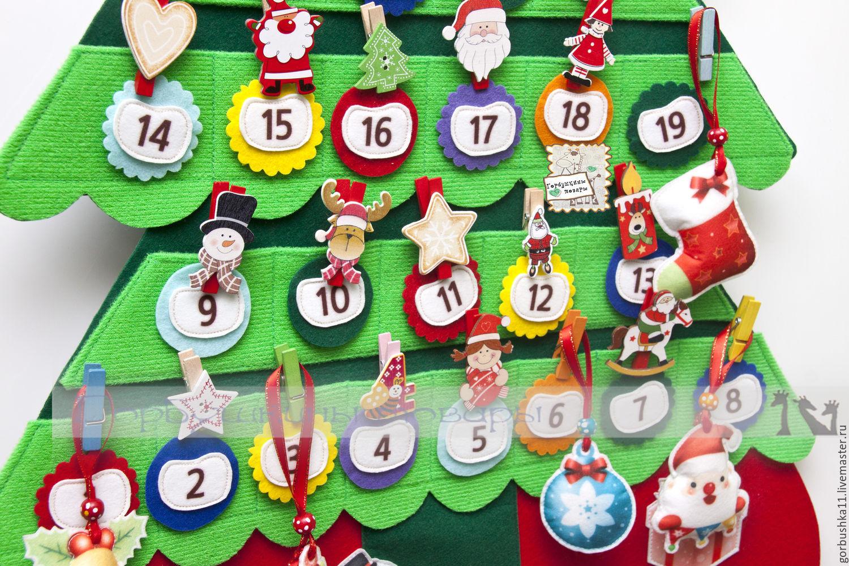 Как сделать красивый адвент-календарь своими руками - лайфхакер
