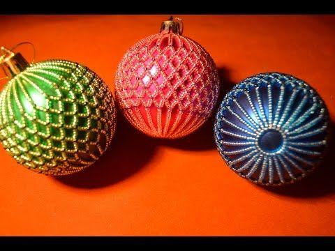 Новогодние шары своими руками на 2021 год (идеи и мастер-классы)