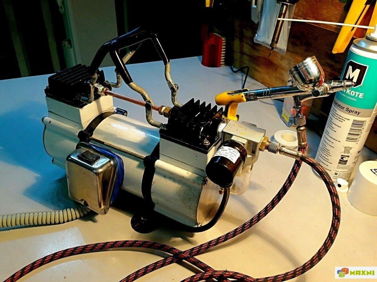 Как правильно подобрать компрессор для аэрографа